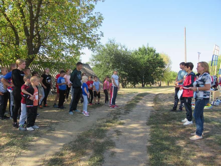 В Ново-Павловской школе состоялись «Весёлые старты»