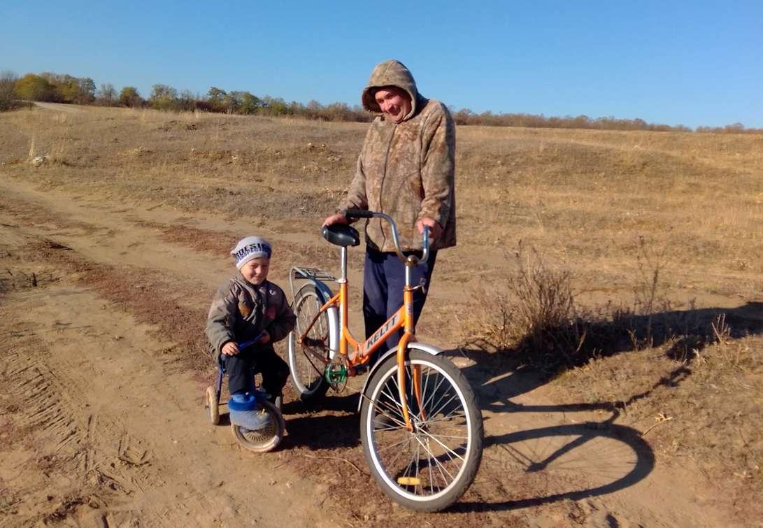 Два поколения семьи Егоровых