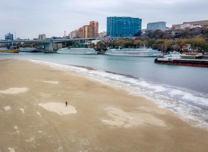Штормовое предупреждение из-за понижения уровня воды в реке Дон объявлено в Ростовской области