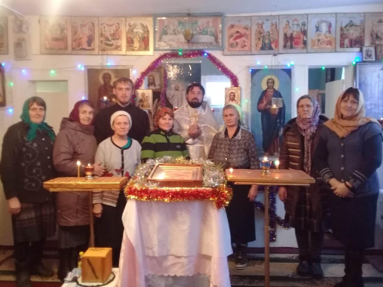Храм в Лысогорке отметил свою годовщину