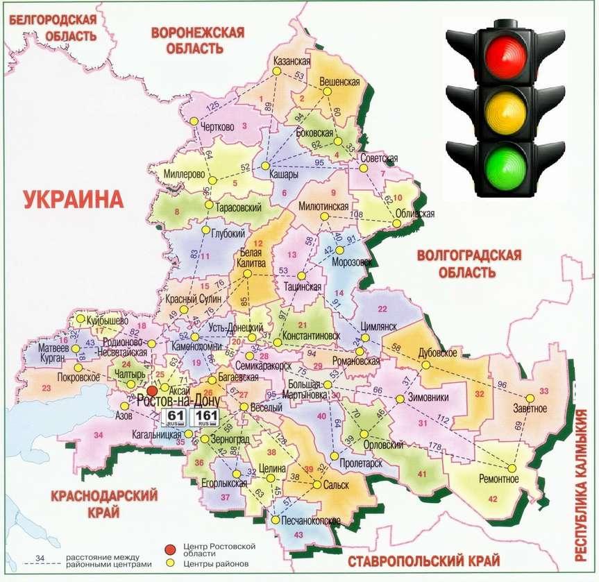Снимать ограничения в донских муниципалитетах будут по системе «Светофор»