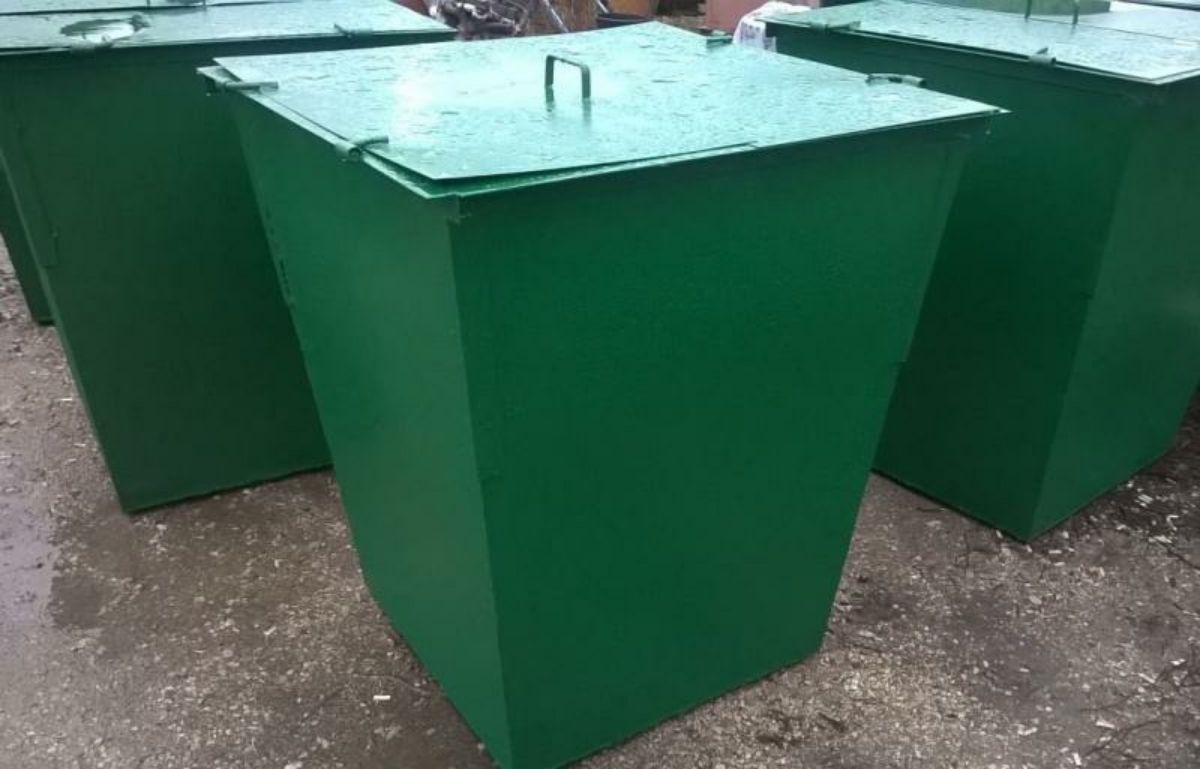 В Поповском поселении появились новые контейнеры для ТБО