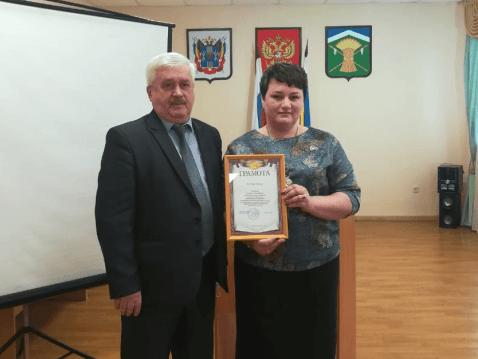 На конкурсе лучших учителей своим опытом работы поделилась Наталья Рудольфовна Никонова из Талловеровской школы