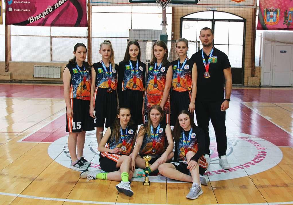 Кашарские баскетболистки в числе лучших