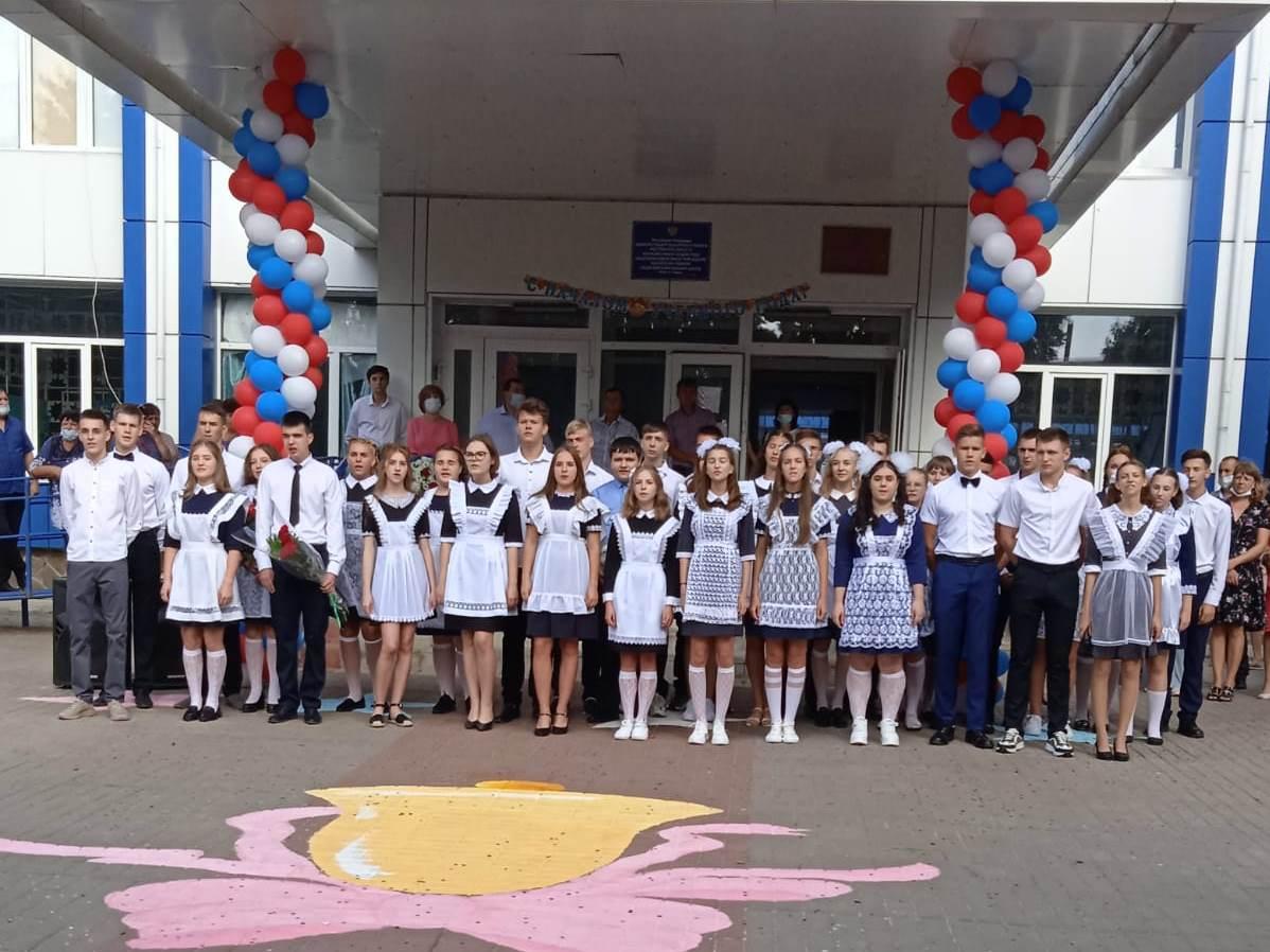 Для школьников Кашарского района прозвенел первый звонок