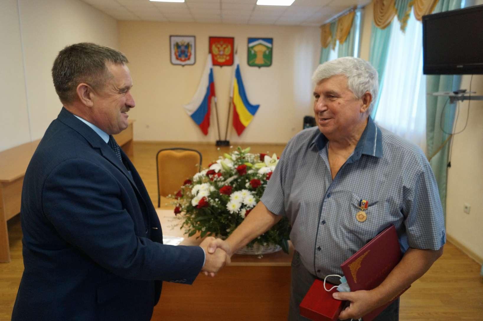 Алексей Андреевич Говорущенко награжден медалью «За доблестный труд на благо Донского края»