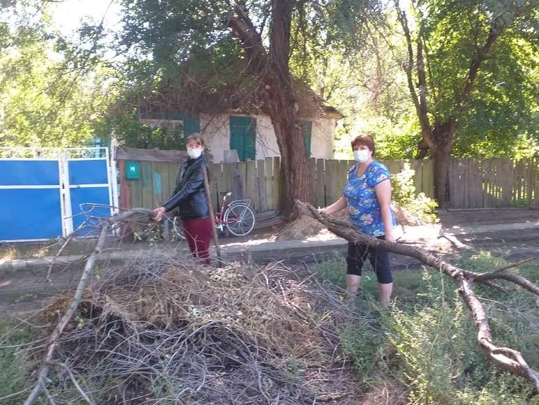 День добрых дел прошел в Кашарском районе
