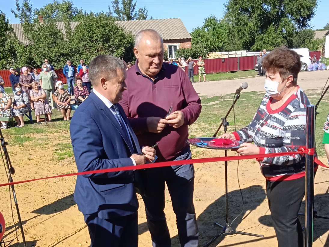 Новый ФАП открылся в Пономареве Кашарского района