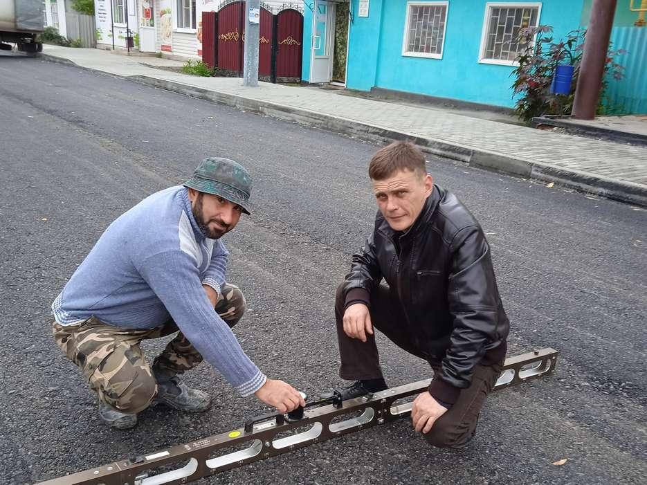 Строительство дороги на Комсомольской продолжается
