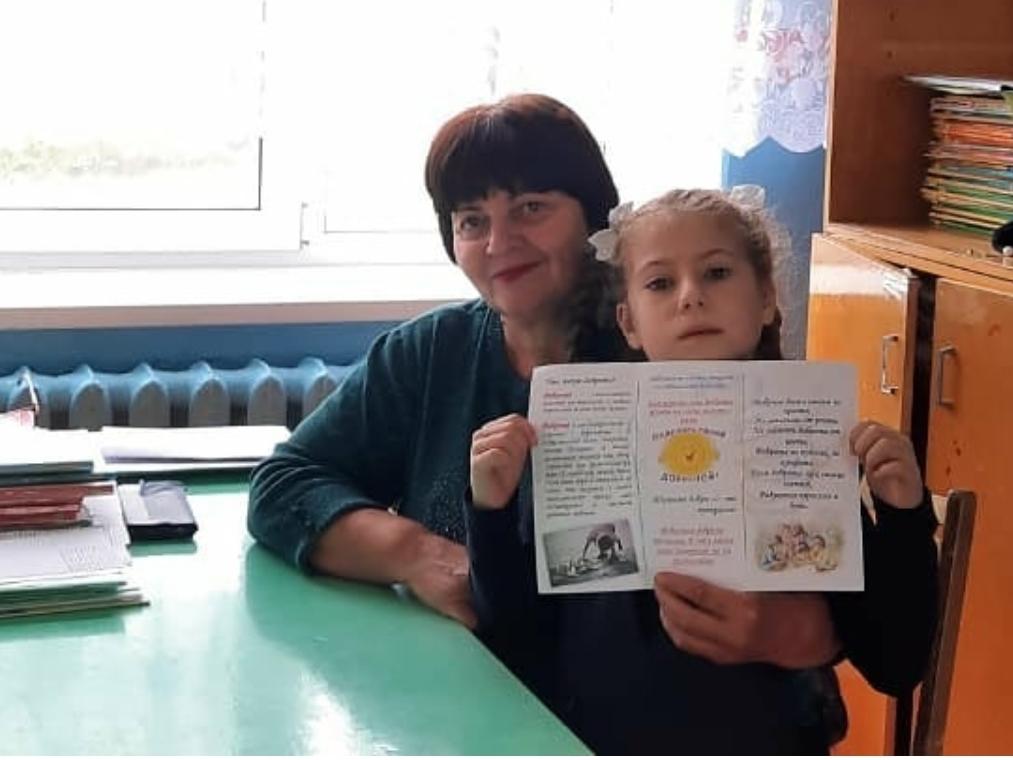 Неделя добра прошла в Пономаревской школе