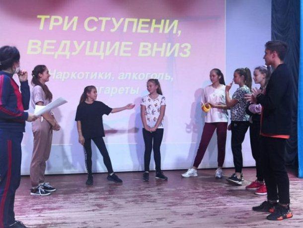 О пороках, ведущих в пропасть, говорили кашарцы