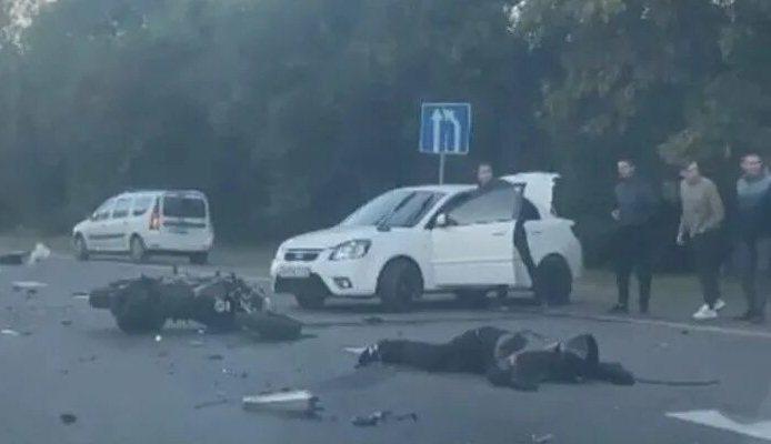 На Дону водитель иномарки насмерть сбил мотоциклиста