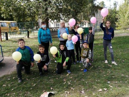 Мероприятие для детей прошло в Вишневке Кашарского района