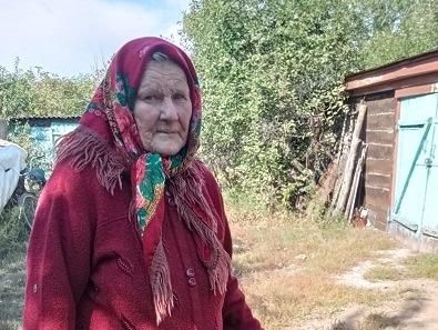 Живет в Ольховом хорошая женщина — Антонина Ивановна Хоршева