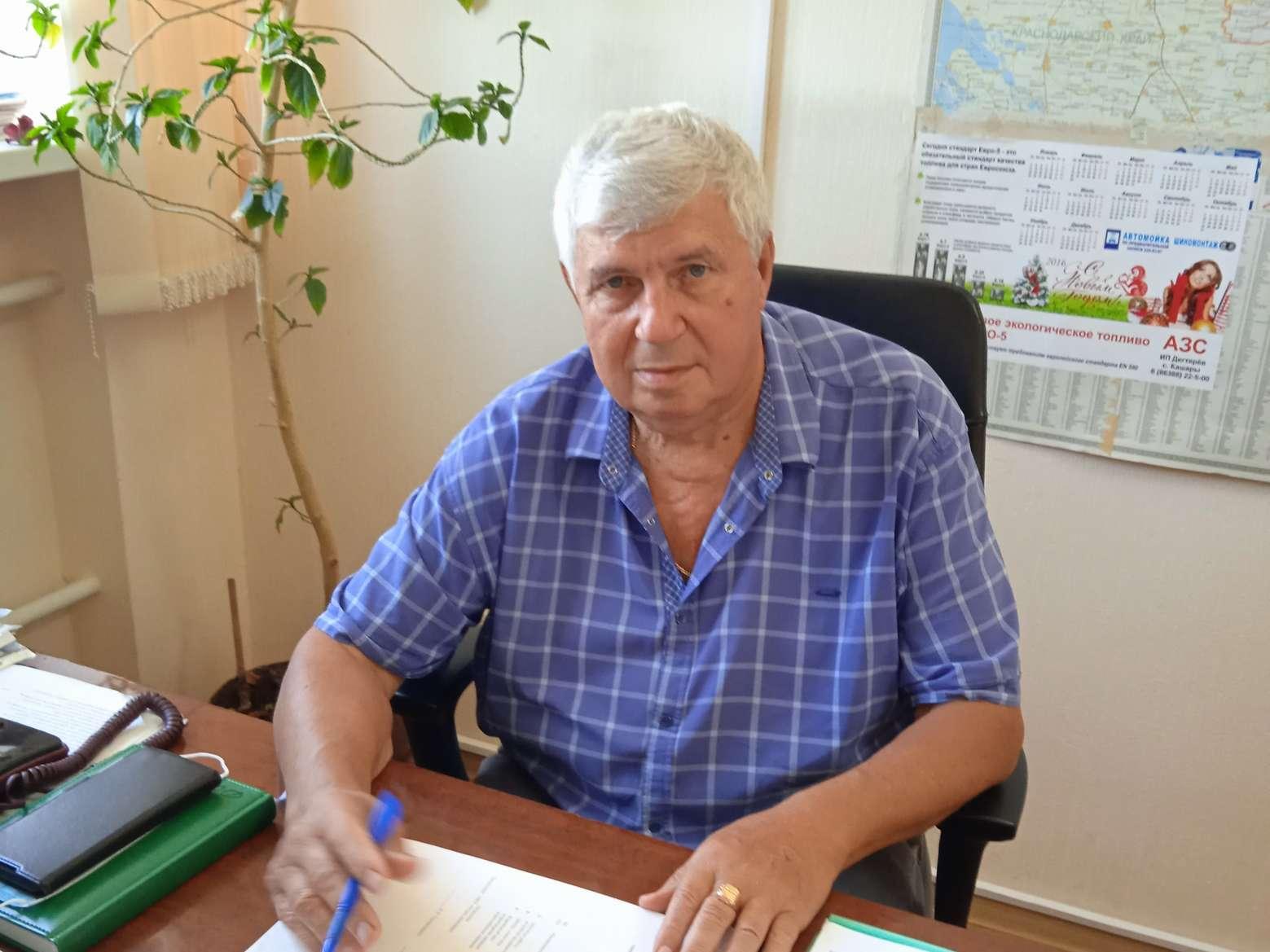 Алексей Андреевич Говорущенко отмечает свой 75-летний юбилей