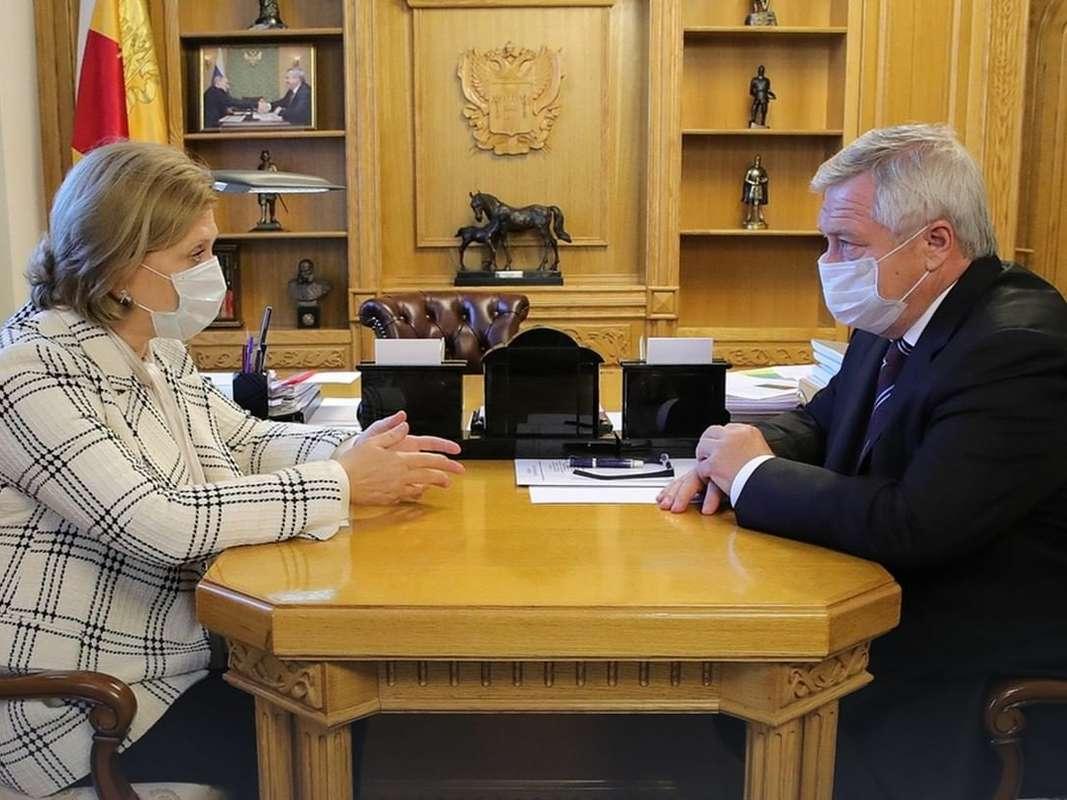 Анна Попова: «Ростовская область уверенно проходит этапы пандемии»