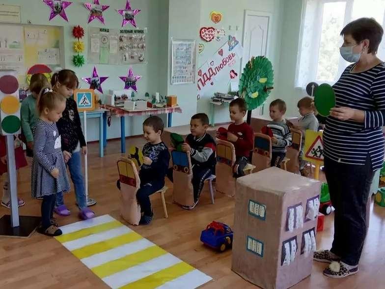Первомайский детский сад участвует в областной акции «Внимание-дети!»