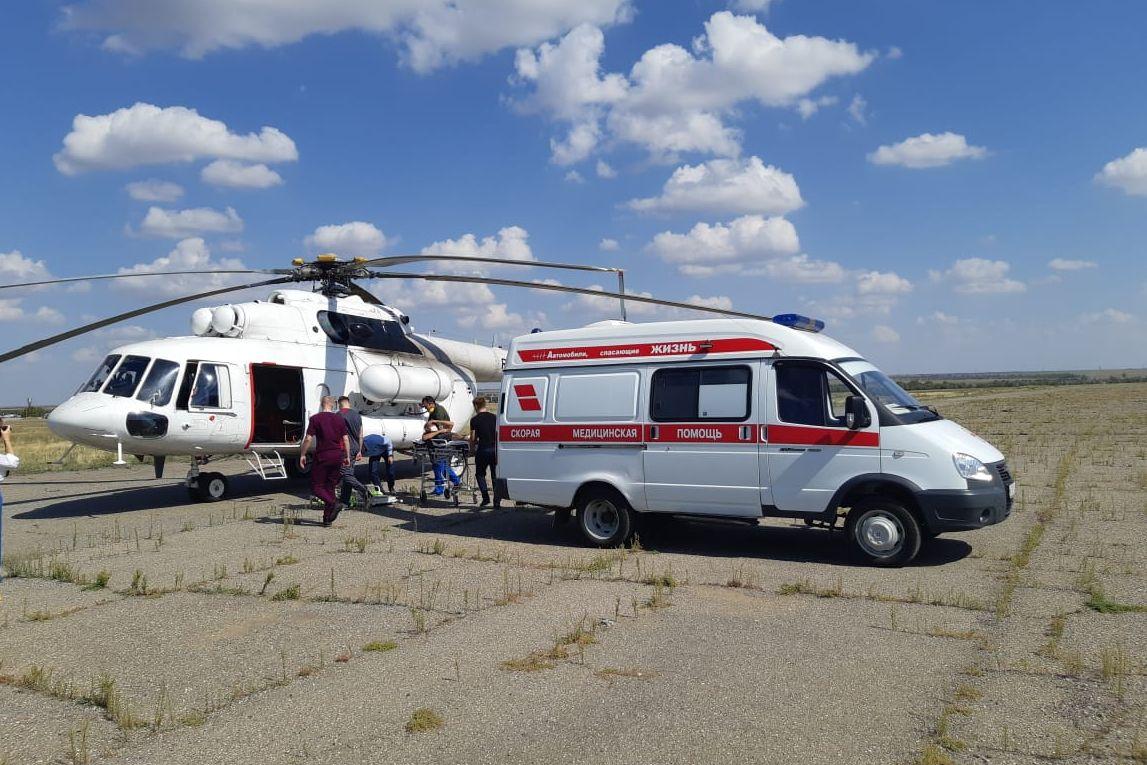 У санавиации Дона появился новый вертолет Ми-8