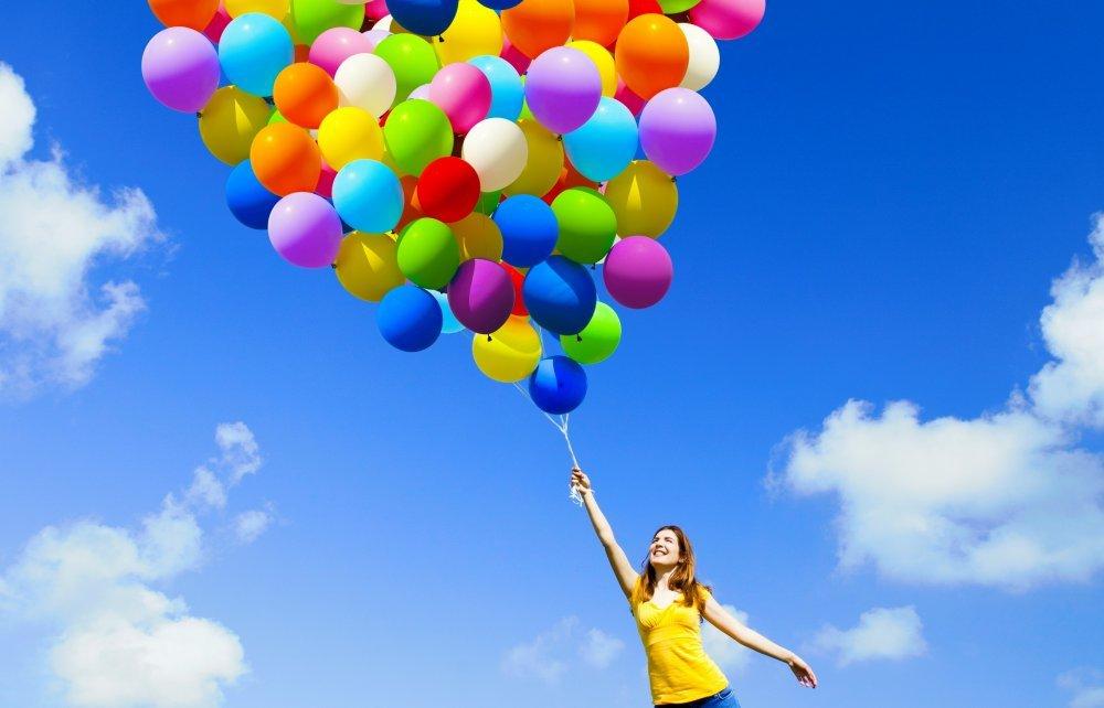 Сколько нужно воздушных шариков, чтобы взлететь?
