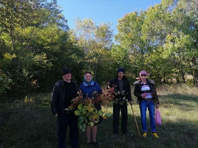 Для получателей услуг СРО Кашарского района организована экскурсия в осенний лес
