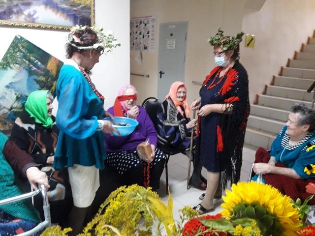 За окошком осень: в Первомайском СРО организовали праздник
